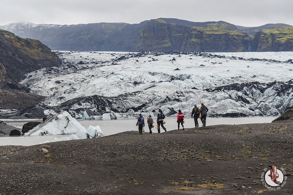 Ring Road 2-7 Glaciar Solheimajokull trekking