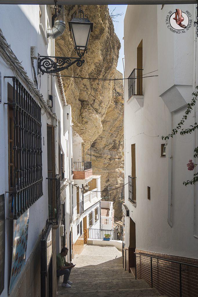 Roca Calle Herreria Setenil