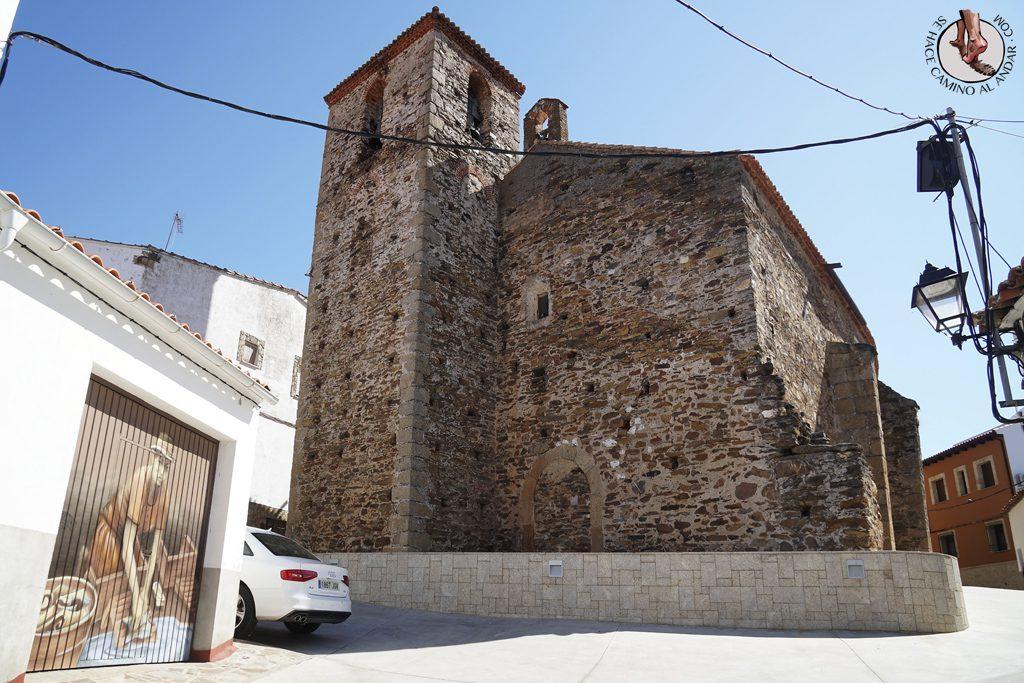 Romangordo ruta trampantojos lavandera iglesia