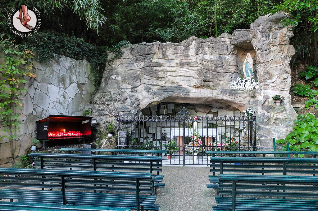 Santuario Lourdes txiki Donostia