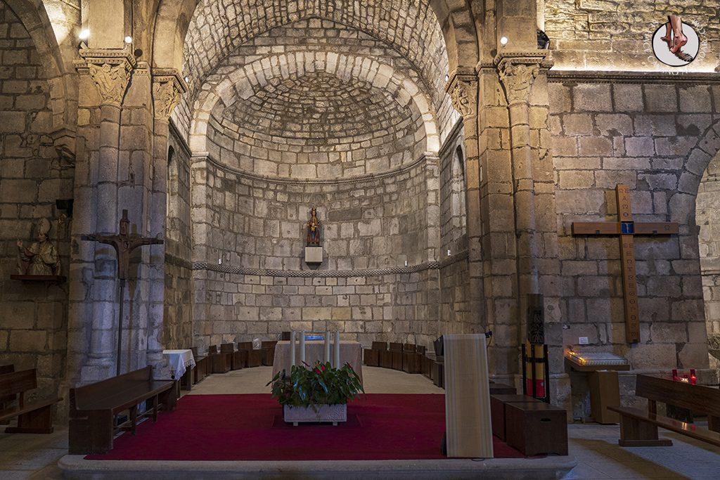 Santuario de Nuestra Senora de Estíbaliz nave central
