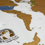 Scratch map, un mapa para rascar países