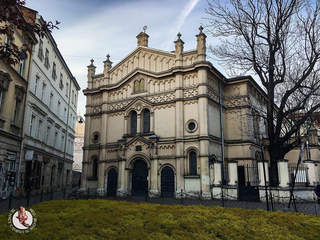 Sinagoga Tempel Barrio judío Cracovia