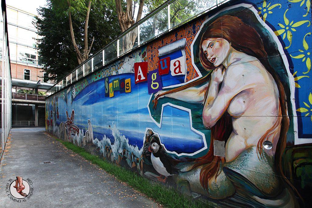 Somos agua Somos arte Murales Vitoria