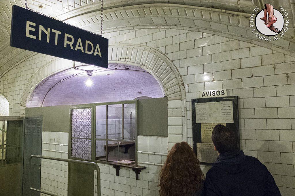 Taquilla estación Chamberí