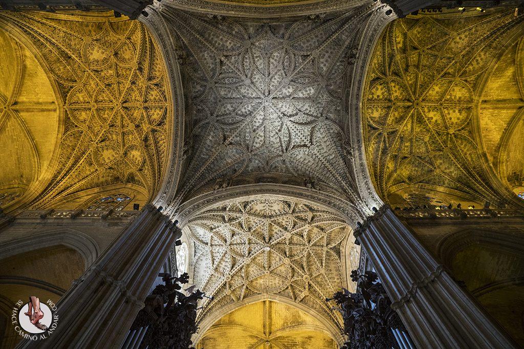 Techo Catedral de Sevilla