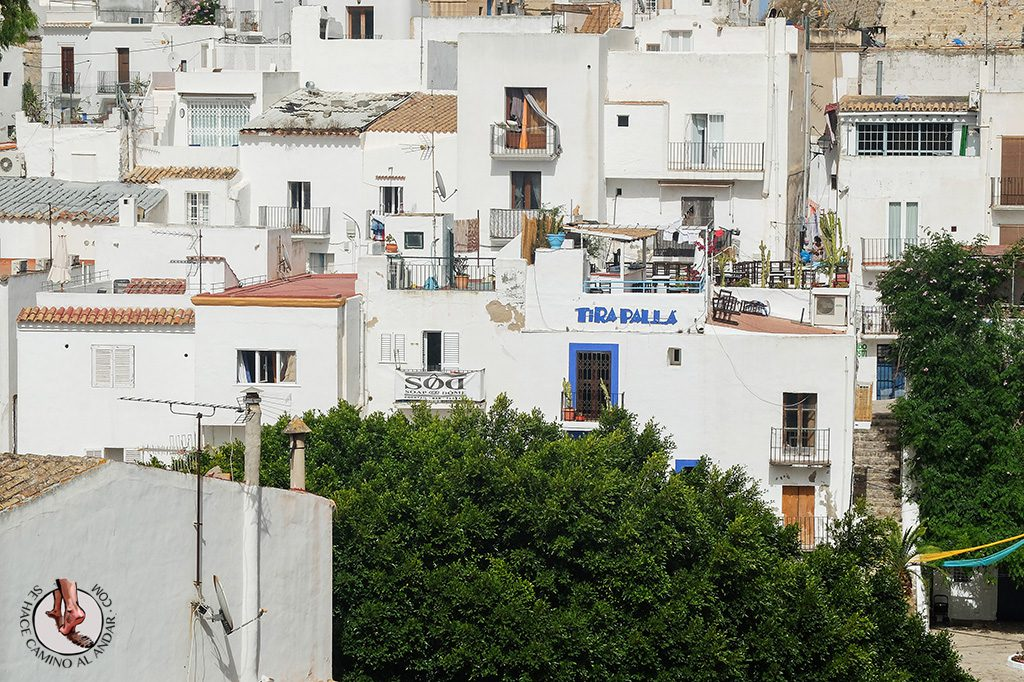 Terraza Tira palla Ibiza