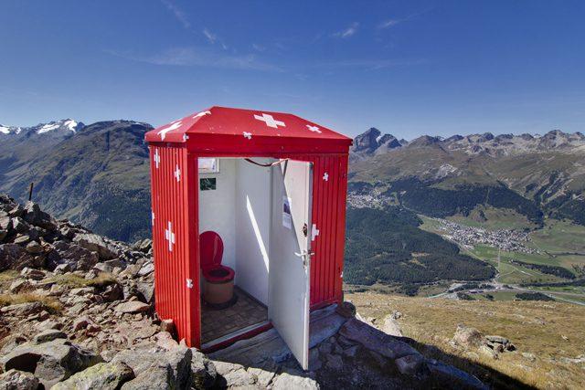 Pontresina. Suiza
