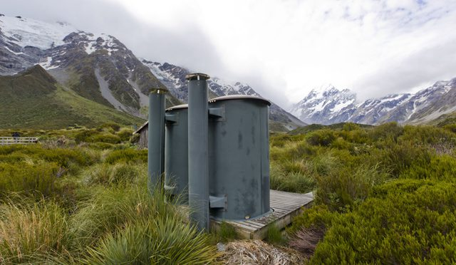 Mount Cook. New Zealand.