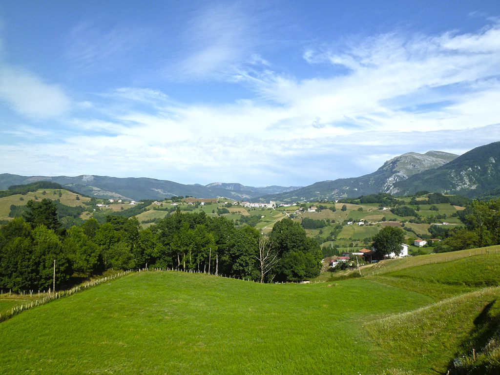 Tolosaldea monte verde euskadi