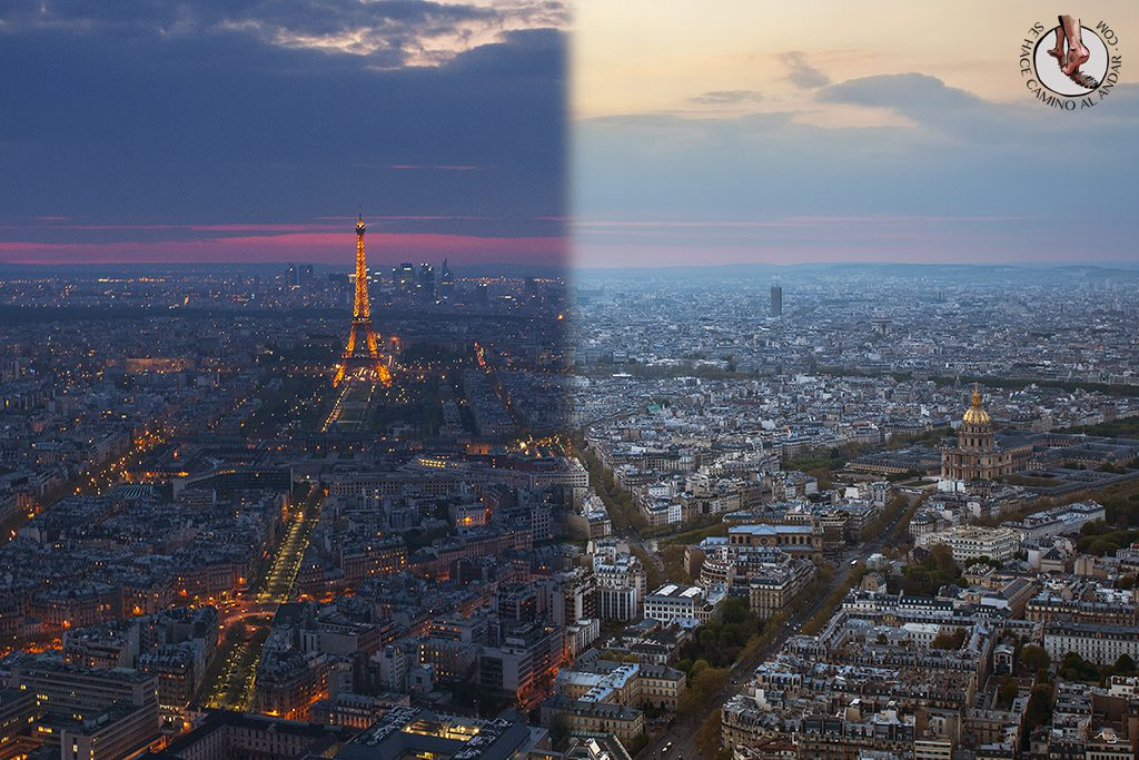 Torre Montparnasse, mirador de París con vistas de la Torre Eiffel