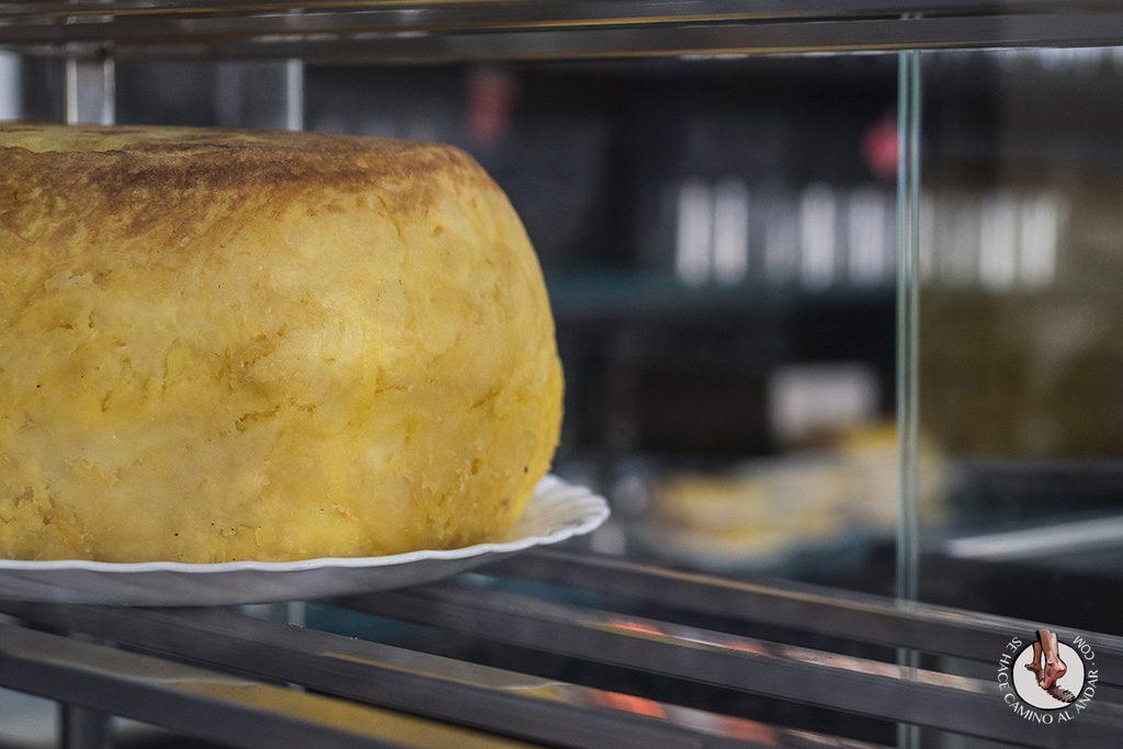 Tortilla gigante Casa Santos Cordoba
