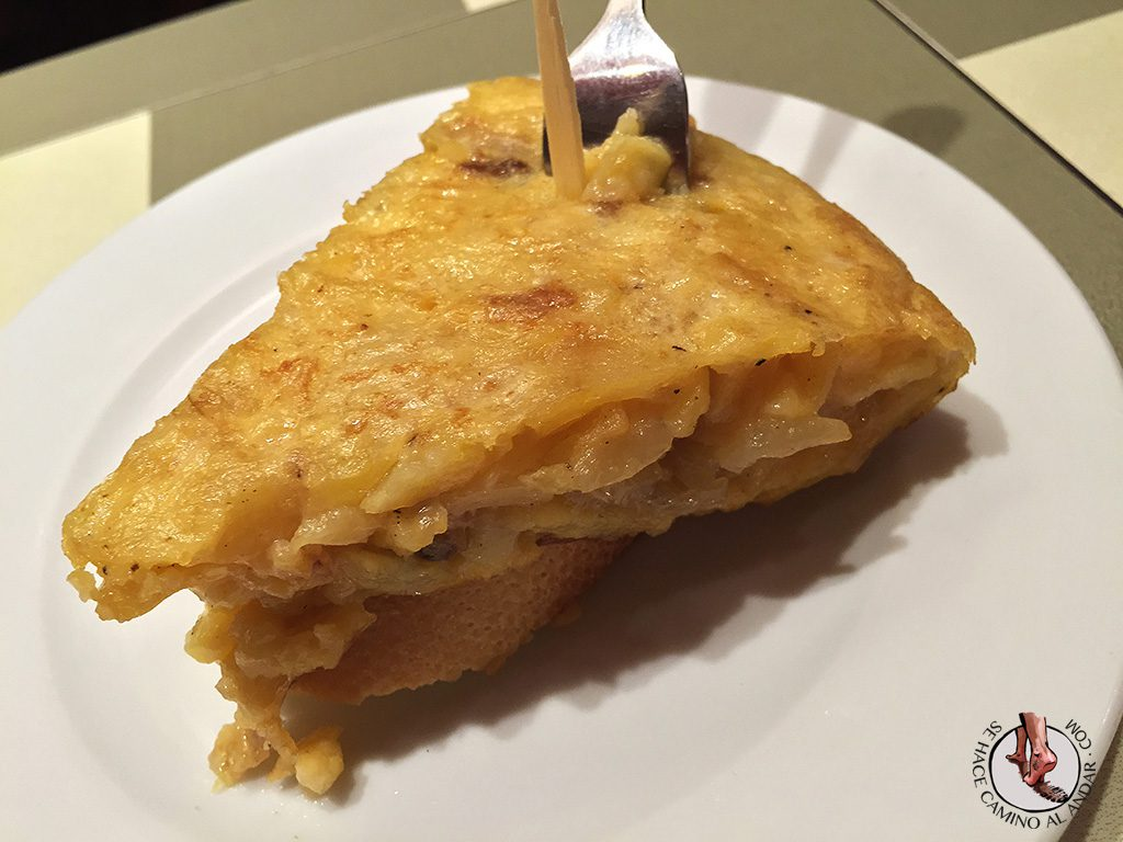 Tortilla patata K2 Bilbao