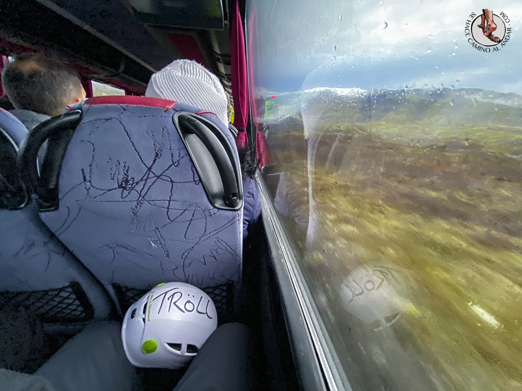 Trekking glaciar Virkisjokull autobus