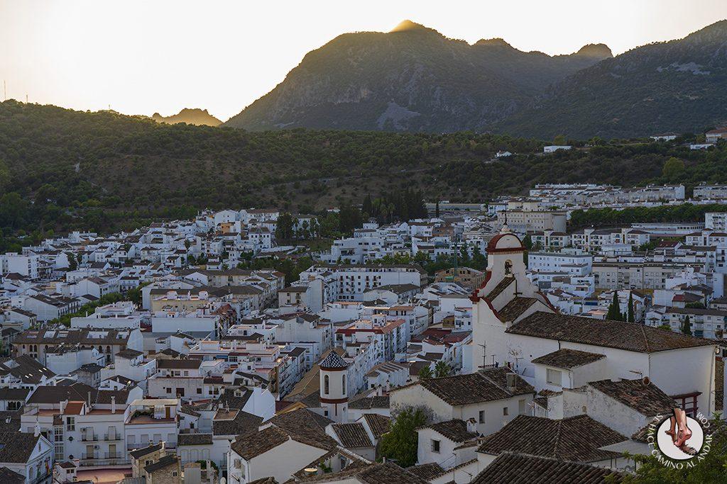 Ubrique-mirador-Ermita-Calvario-atardecer