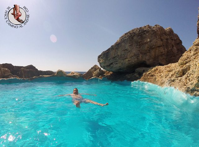 Una piscina natural escondida entre las rocas de Mallorca 8