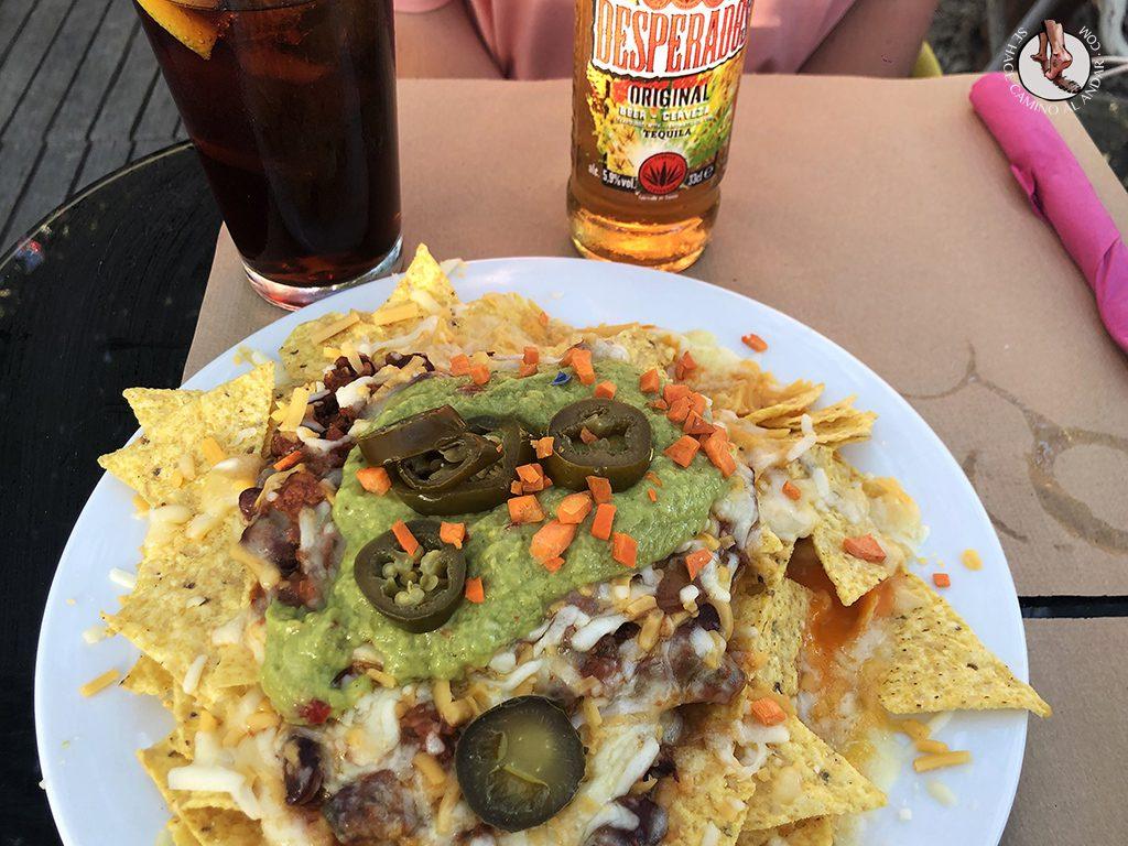 Vejer de la Frontera playa el palmar chiringuito el dorado nachos