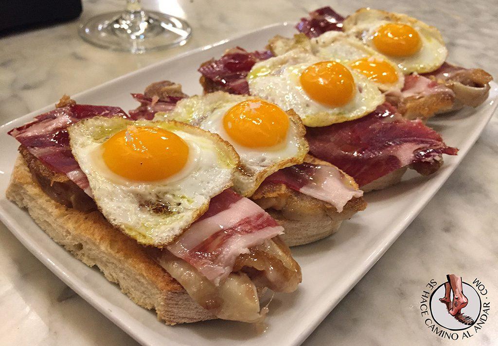 Viriato Jamon huevo de codorniz jeta de cerdo Zamora