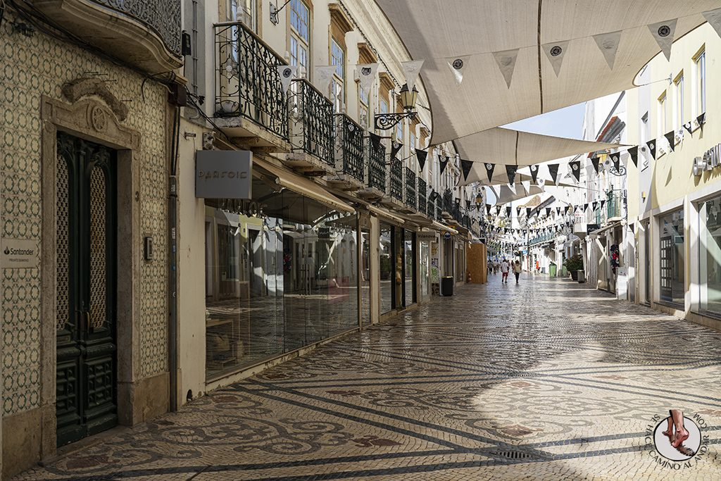 Visitar Algarve Faro calle