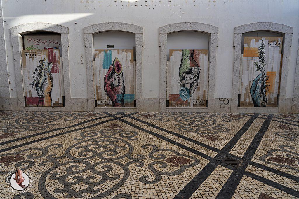 Visitar Algarve Faro graffiti