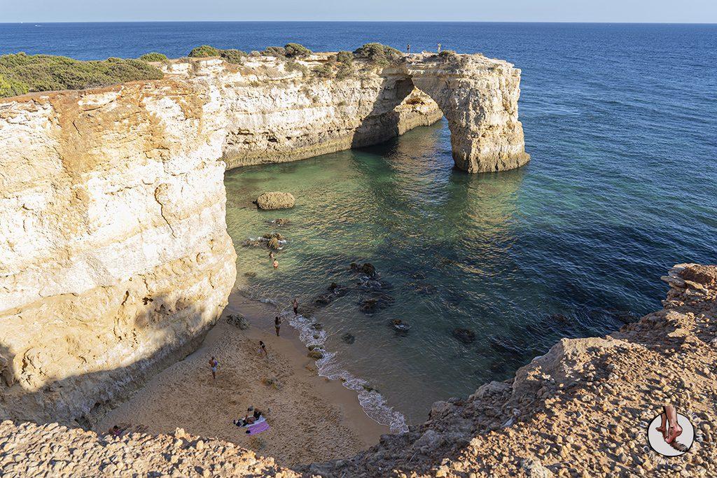 Visitar Algarve Praia Albandeira