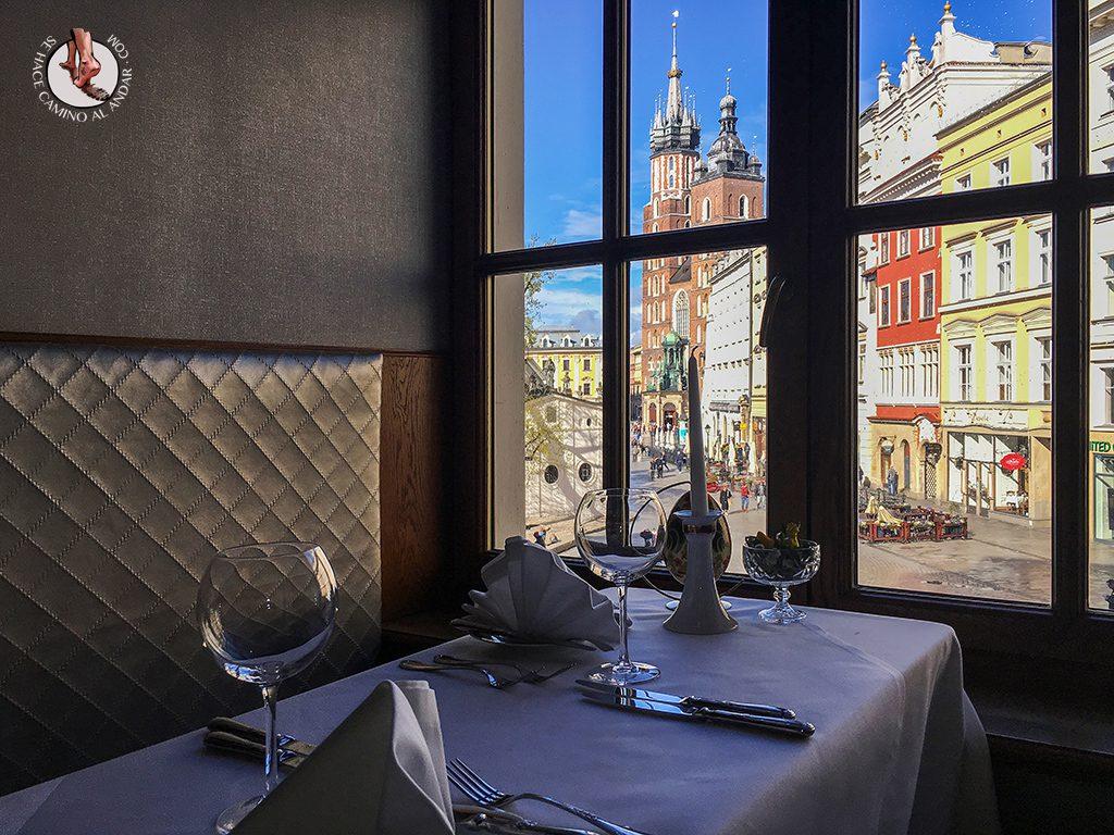 Vistas Wierzynek Restaurant Cracovia