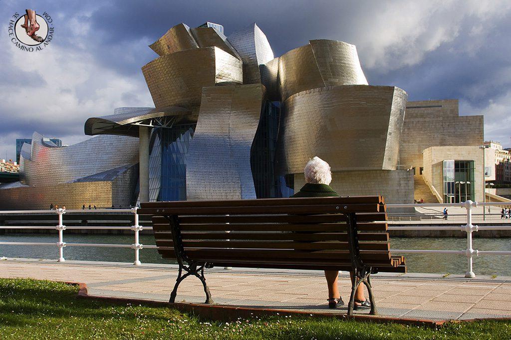 Vistas al Museo Guggenheim