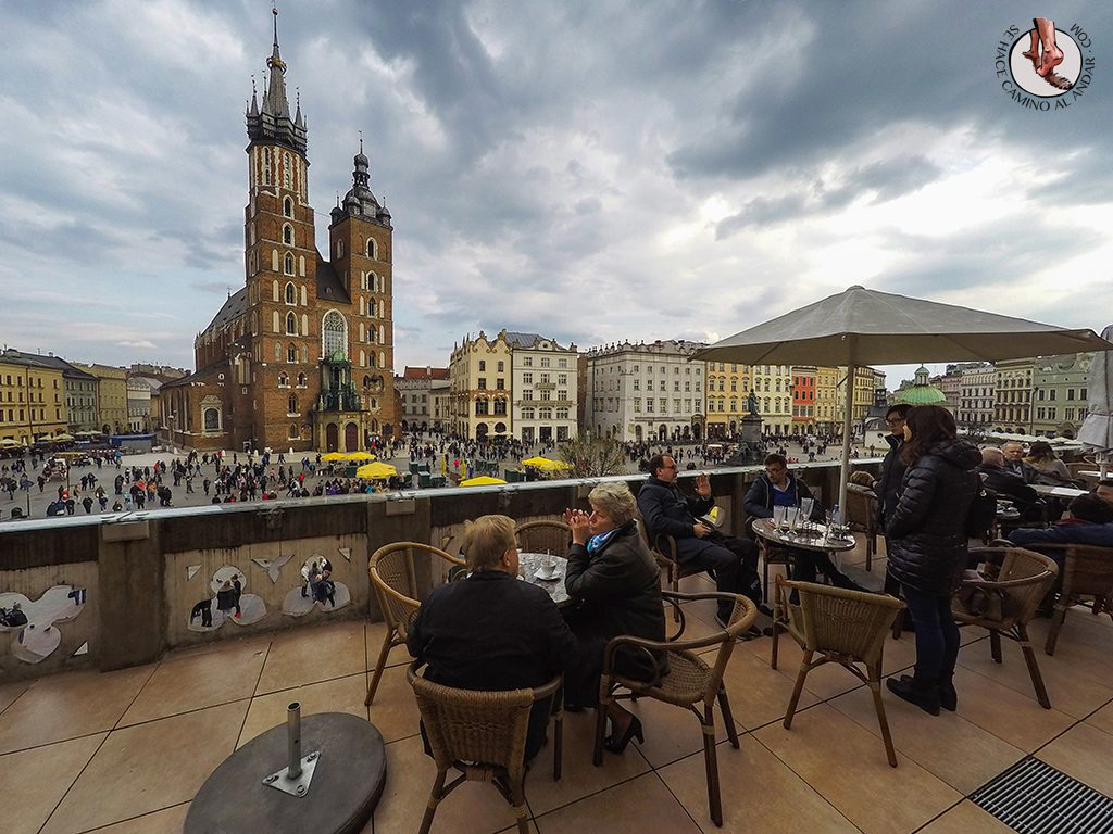 Vistas cafe szat Cracovia