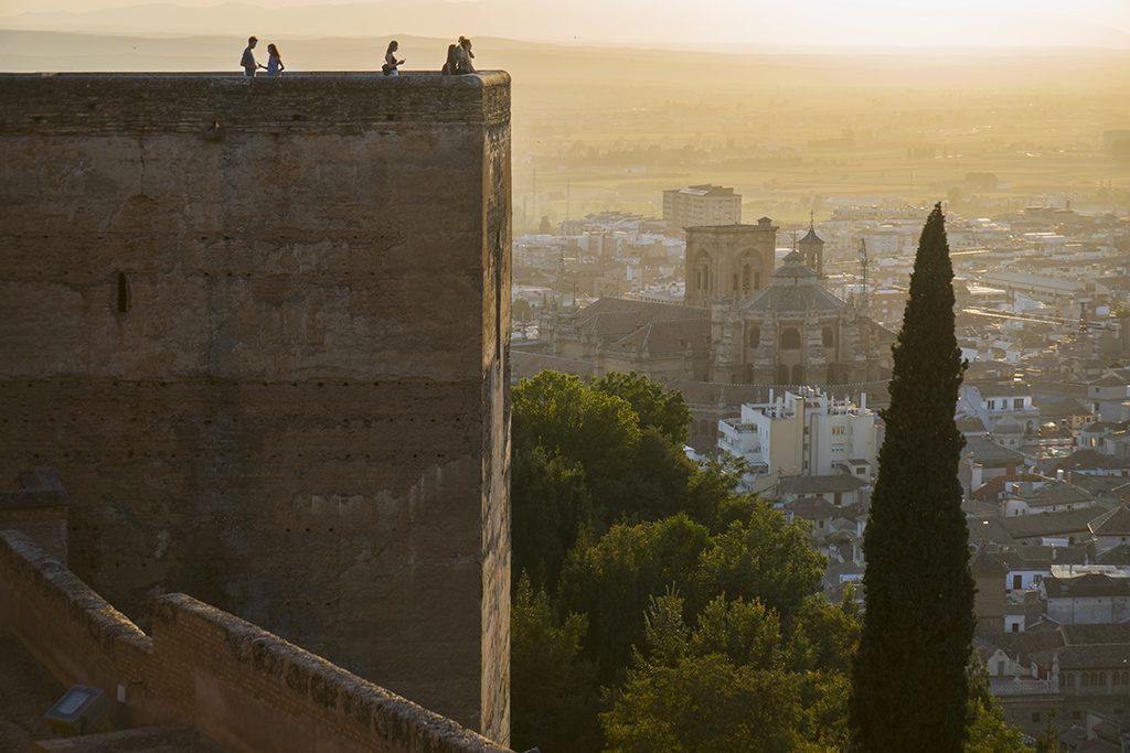 Vistas desde Alcazaba Granada