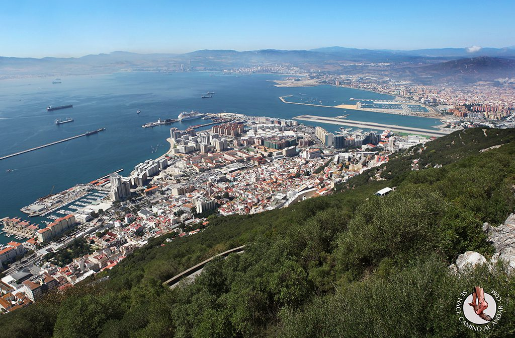Vistas funicular Gibraltar