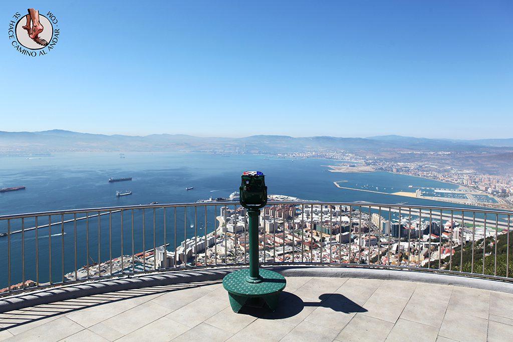Vistas mirador Gibraltar
