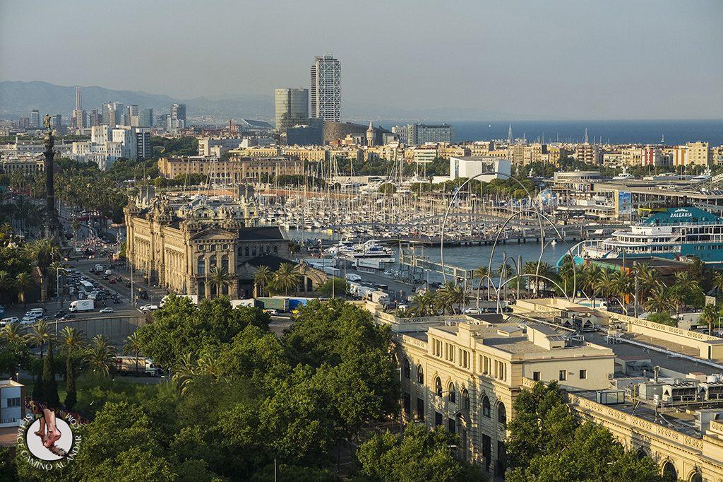 Vistas puerto desde Mirador del Alcalde