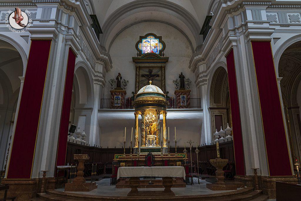 altar Iglesia Nuestra Senora de la Encarnacion olvera