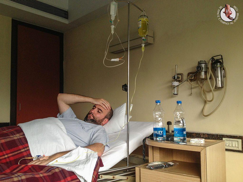 Andoni ingresado hospital Calcuta