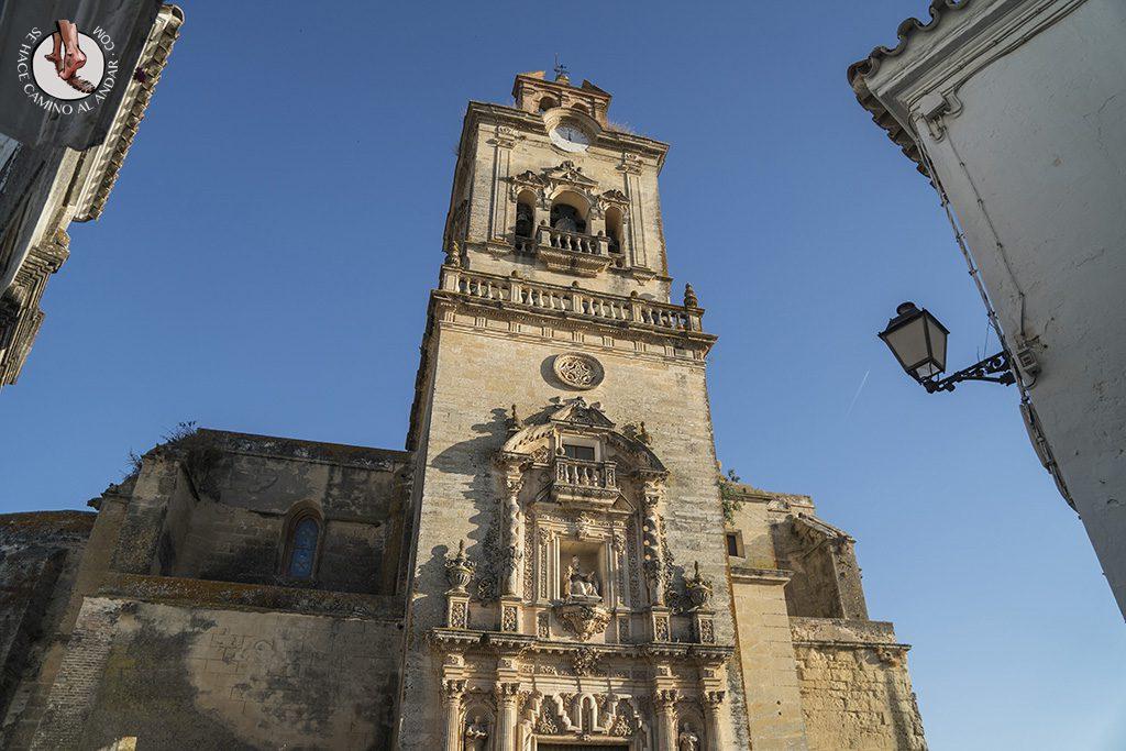 arcos de la frontera iglesia san pedro torre