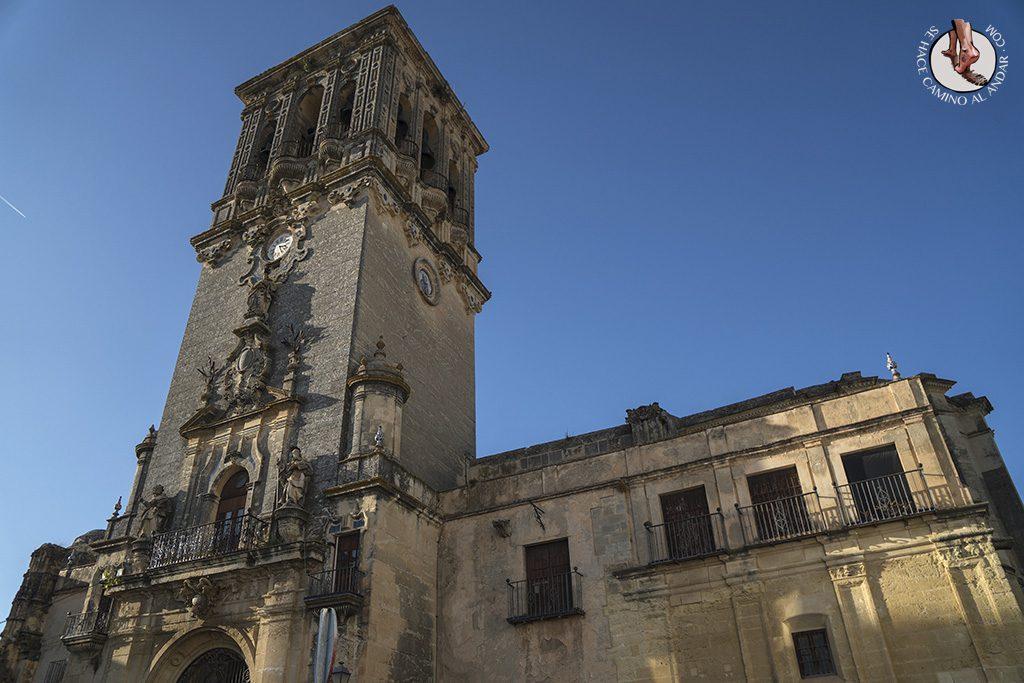 arcos de la frontera iglesia santa maria asuncion plaza