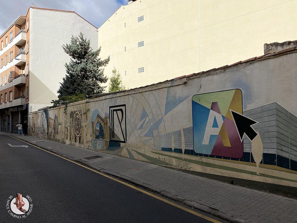arte urbano zamora Calle Luis Ulloa Pereira