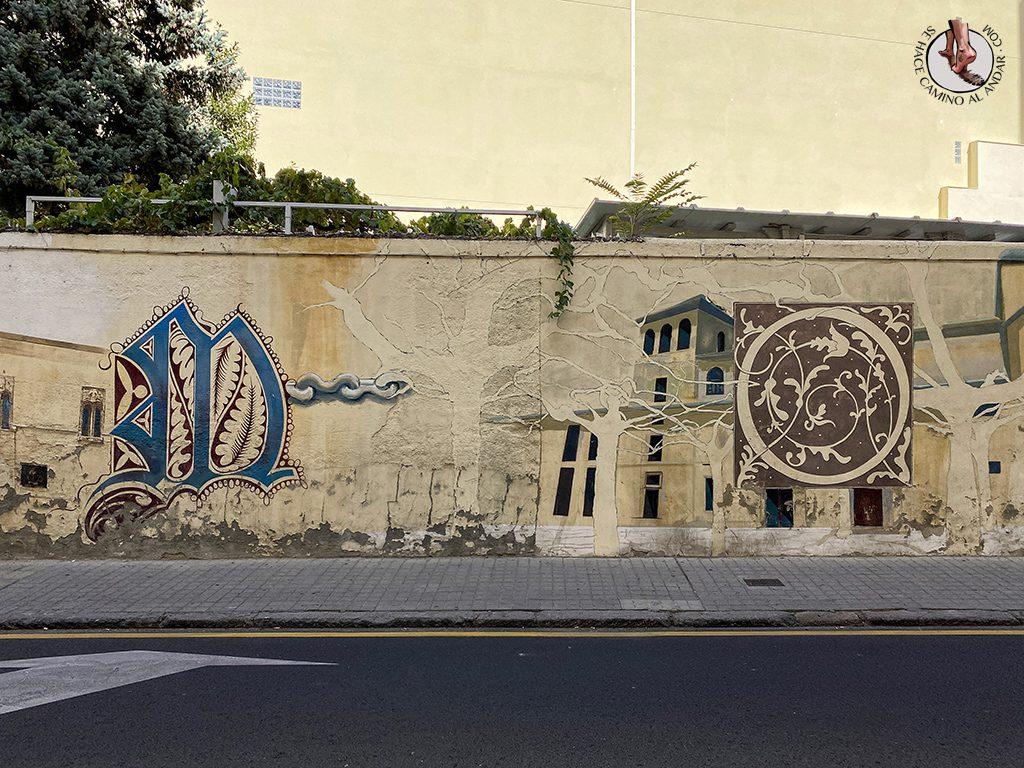 arte urbano zamora Calle Luis Ulloa Pereira2
