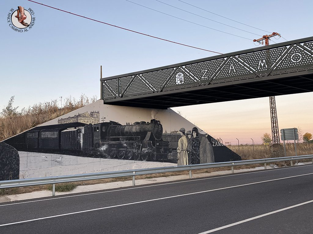 arte urbano zamora homenaje ruta de la plata