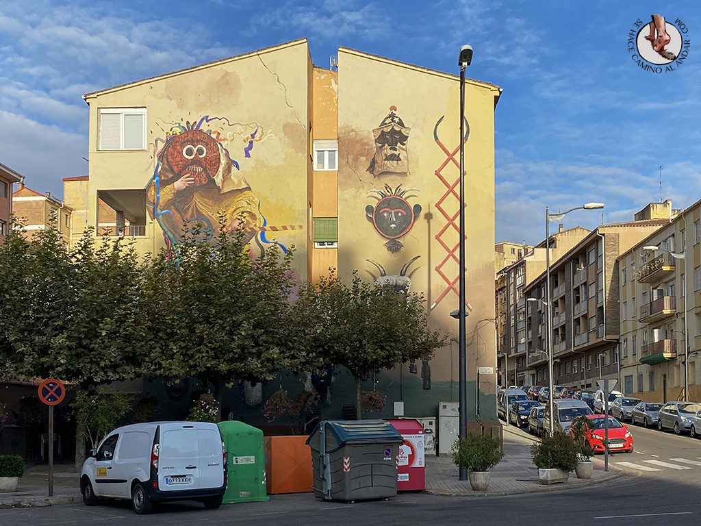 arte urbano zamora mascaradas de invierno
