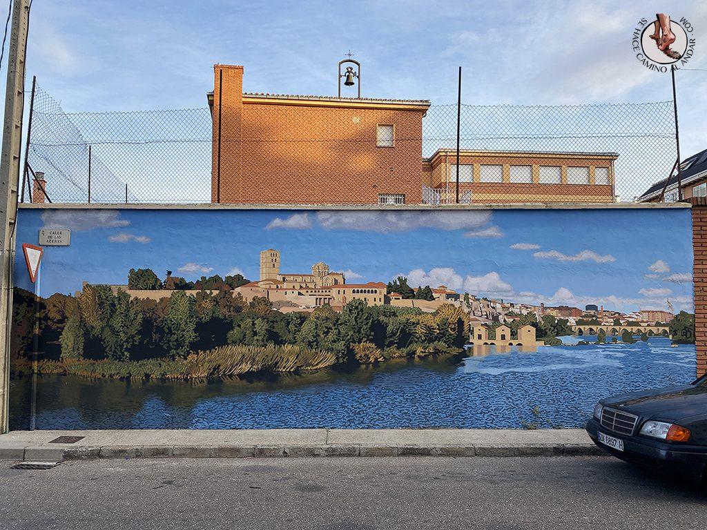 arte urbano zamora mural de los puentes