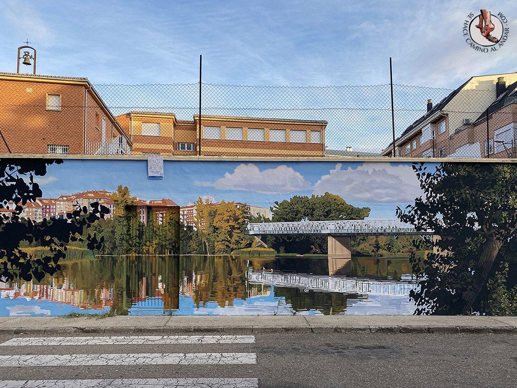 arte urbano zamora mural de los puentes2