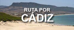 Organizar un viaje por la provincia de Cádiz