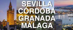 Guía para visitar Sevilla, Córdoba, Granada y Málaga
