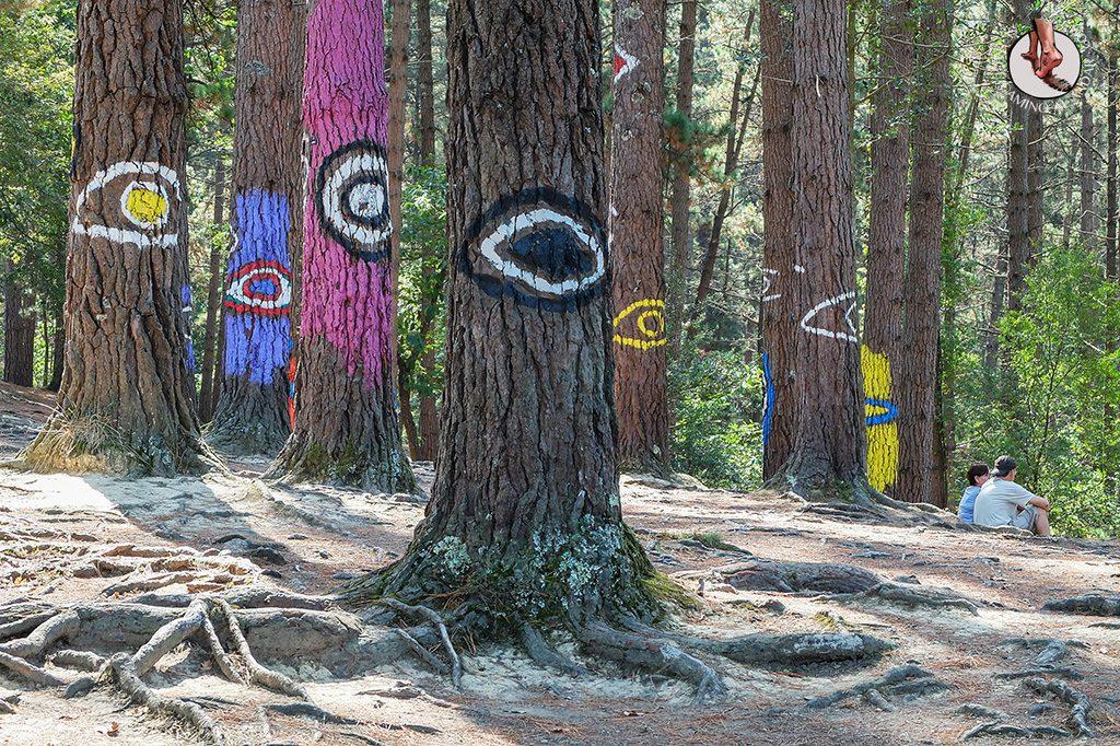 bosque de oma grandes ojos
