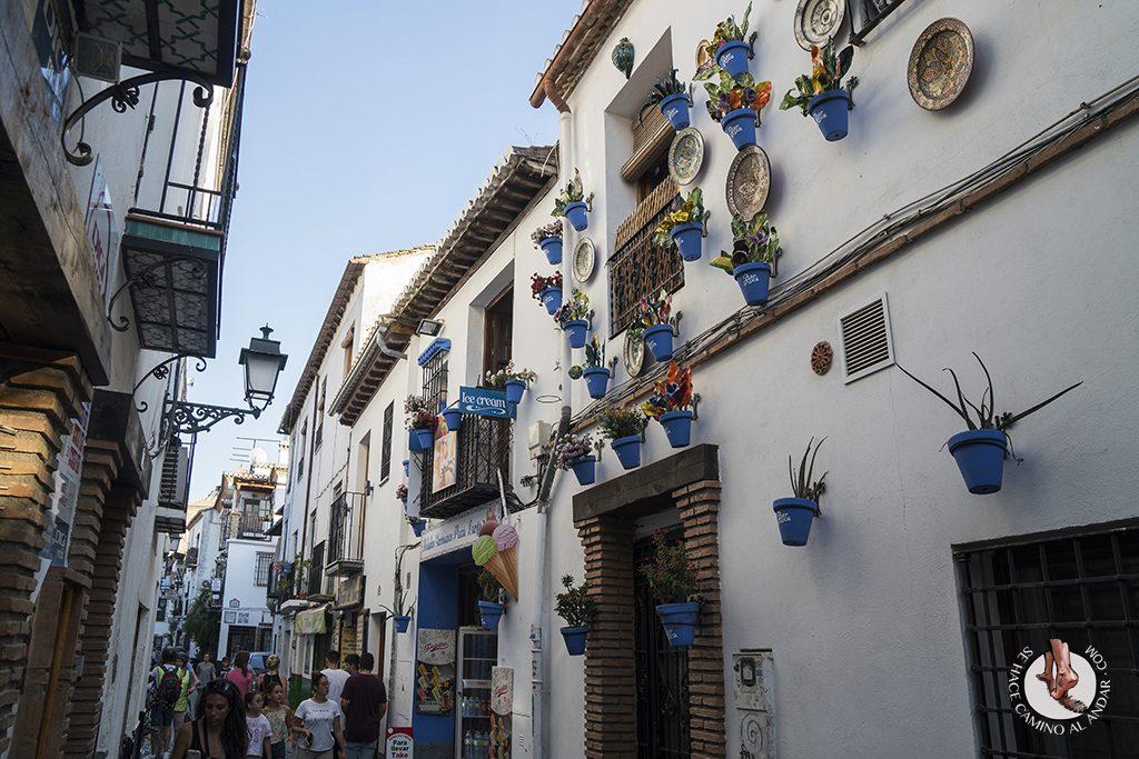 calles Albaicin Granada