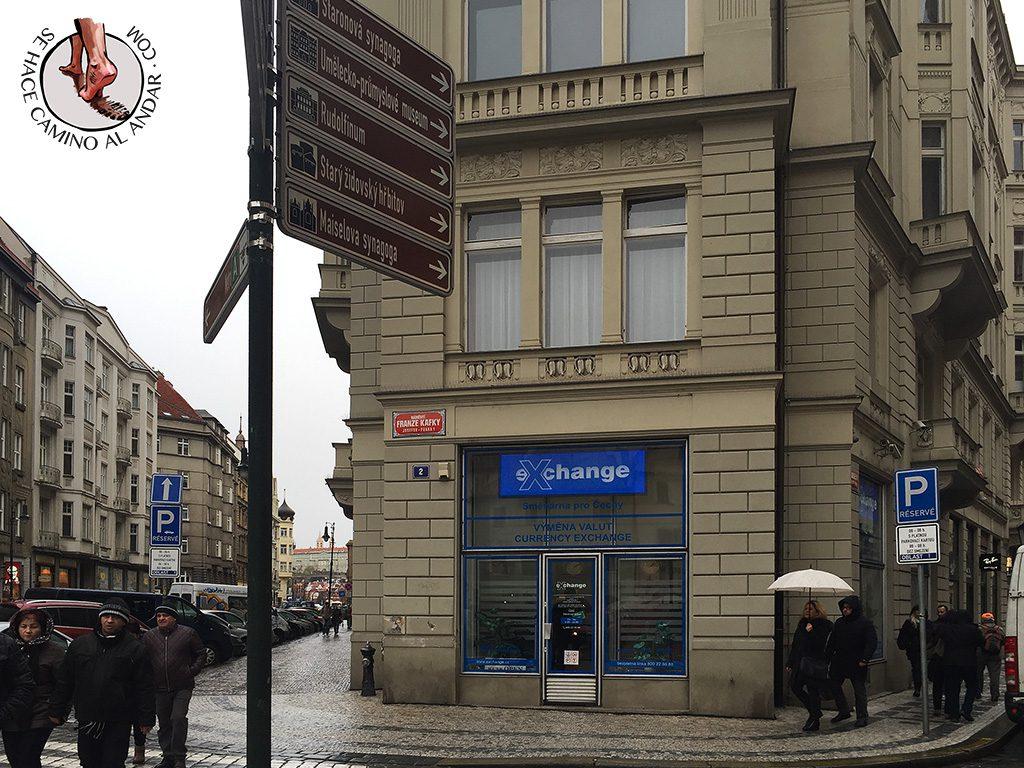 cambio moneda praga