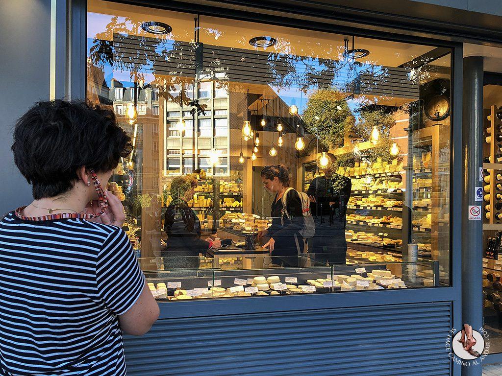 comer en Paris quesos