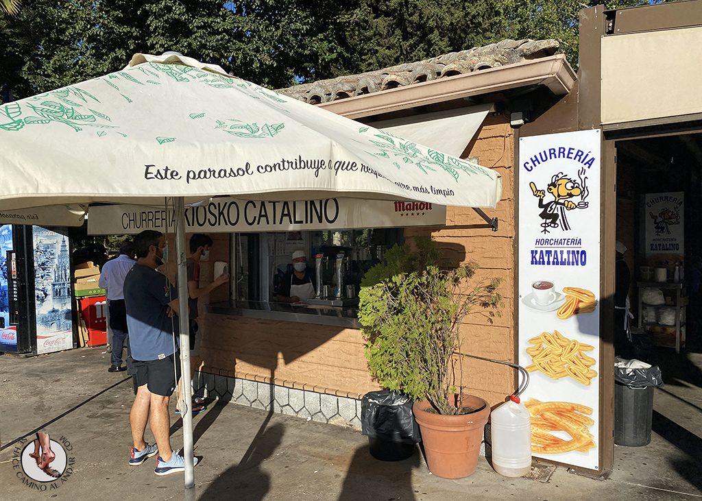 comer en toledo kiosko catalino churros