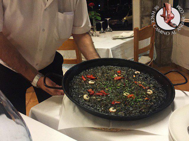 comer Mallorca fideua negro Lovento chalo84